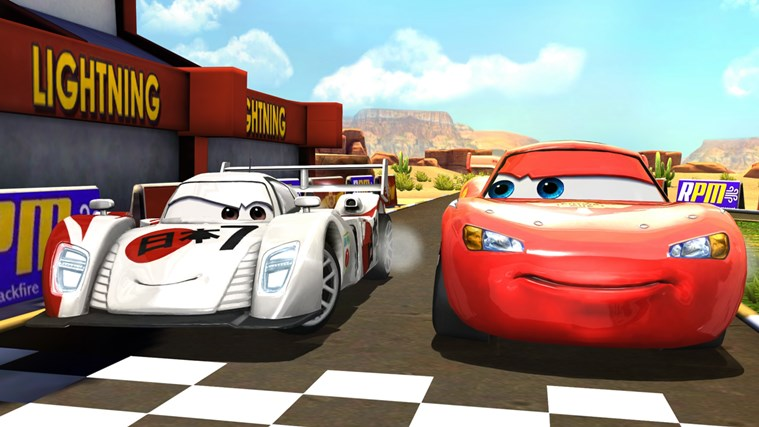 Cars: Fast as Lightning Tersedia di Windows Store
