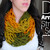 How To Make This Amazing Arm Knit Infinity Scarf In Just 30 Minutes