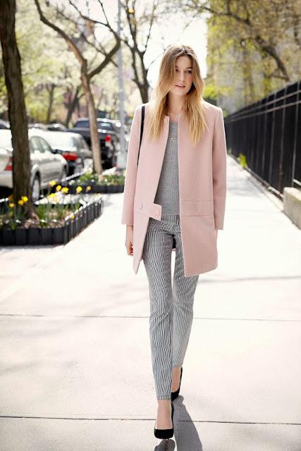 El must de la temporada contra el frío el abrigo rosa en todas sus versiones
