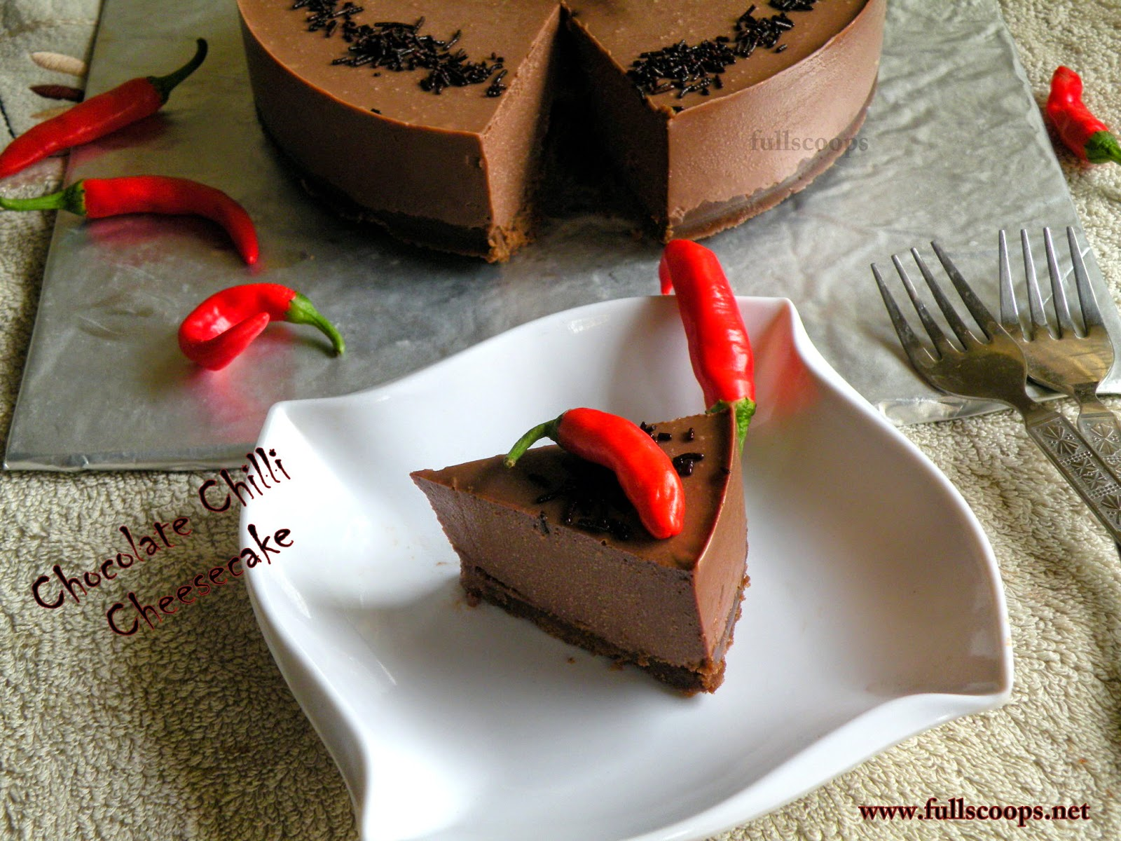 Chocolate Chilli Cheesecake