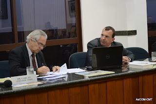 Vereadores Dr. Carlão e Cláudio Mello