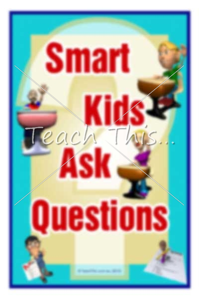 kids asking questions, says Smart Kids Ask Questions