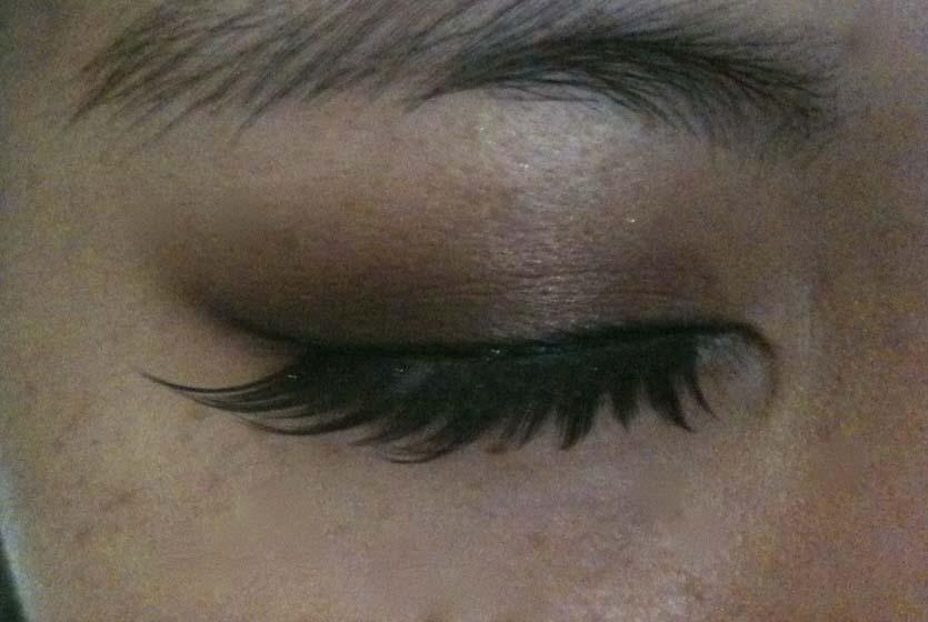Pche Blush Shu Uemura Black Slant False Eyelashes