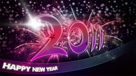 download new year windows 7 theme 2011
