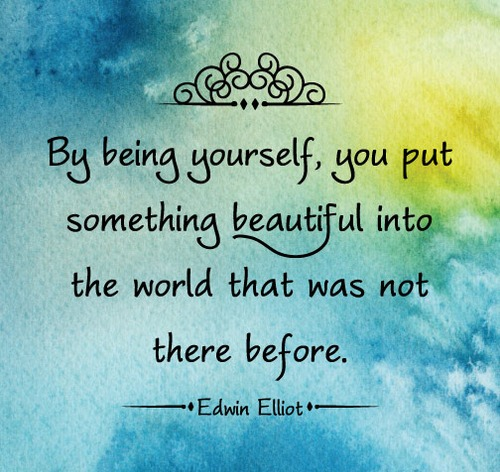 being yourself - Inspirational Positive Quotes with Images