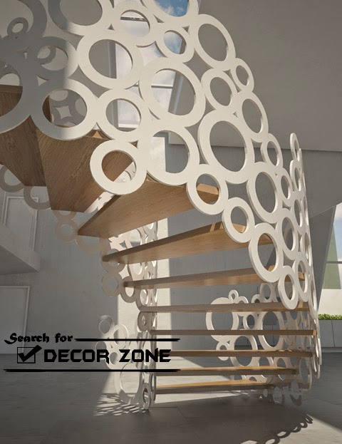 Staircase designs - Modern interior design with spiral stairs contemporary spiral staircase design ...