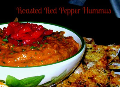 Cooking with k roasted red pepper hummus for Roasted red bell pepper hummus