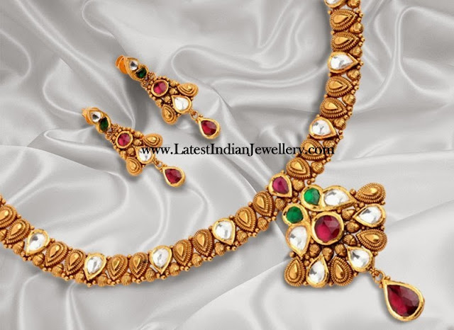 Light Weight Kundan Jewellery