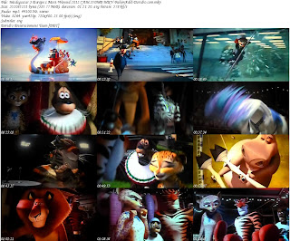 Free Download Movie Madagascar 3: EUROPE'S MOST WANTED 3D