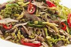Resep praktis (mudah) tumis bunga pepaya khas manado spesial (istimewa) enak, lezat