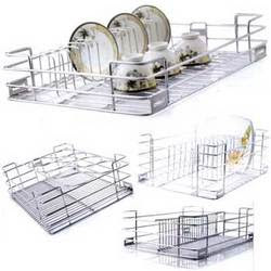 Stainless steel kitchen accessories home decorations for Kitchen trolley designs catalogue