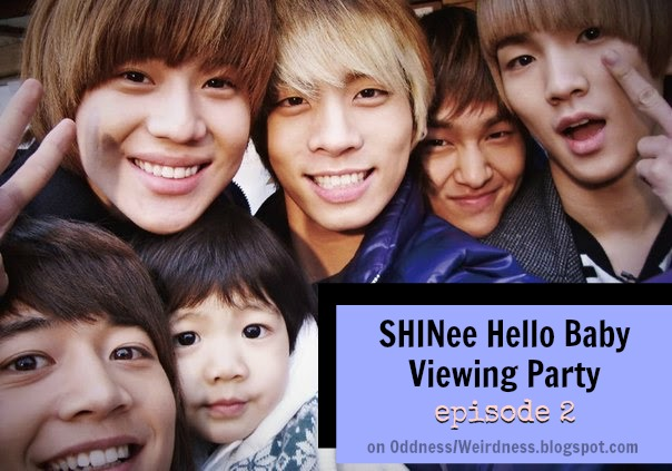 shinee hello baby viewing party episode 2 eng subs