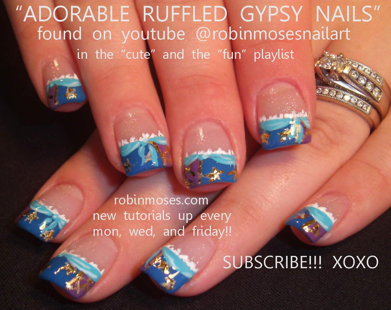 Nail Art Design - Nail Art Design: Gypsy Nails, Graveyard Nails, Halloween Nails