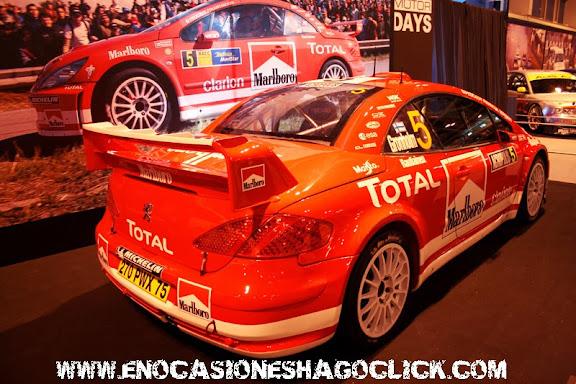 Peugeot 307 WRC Madrid Motor Days