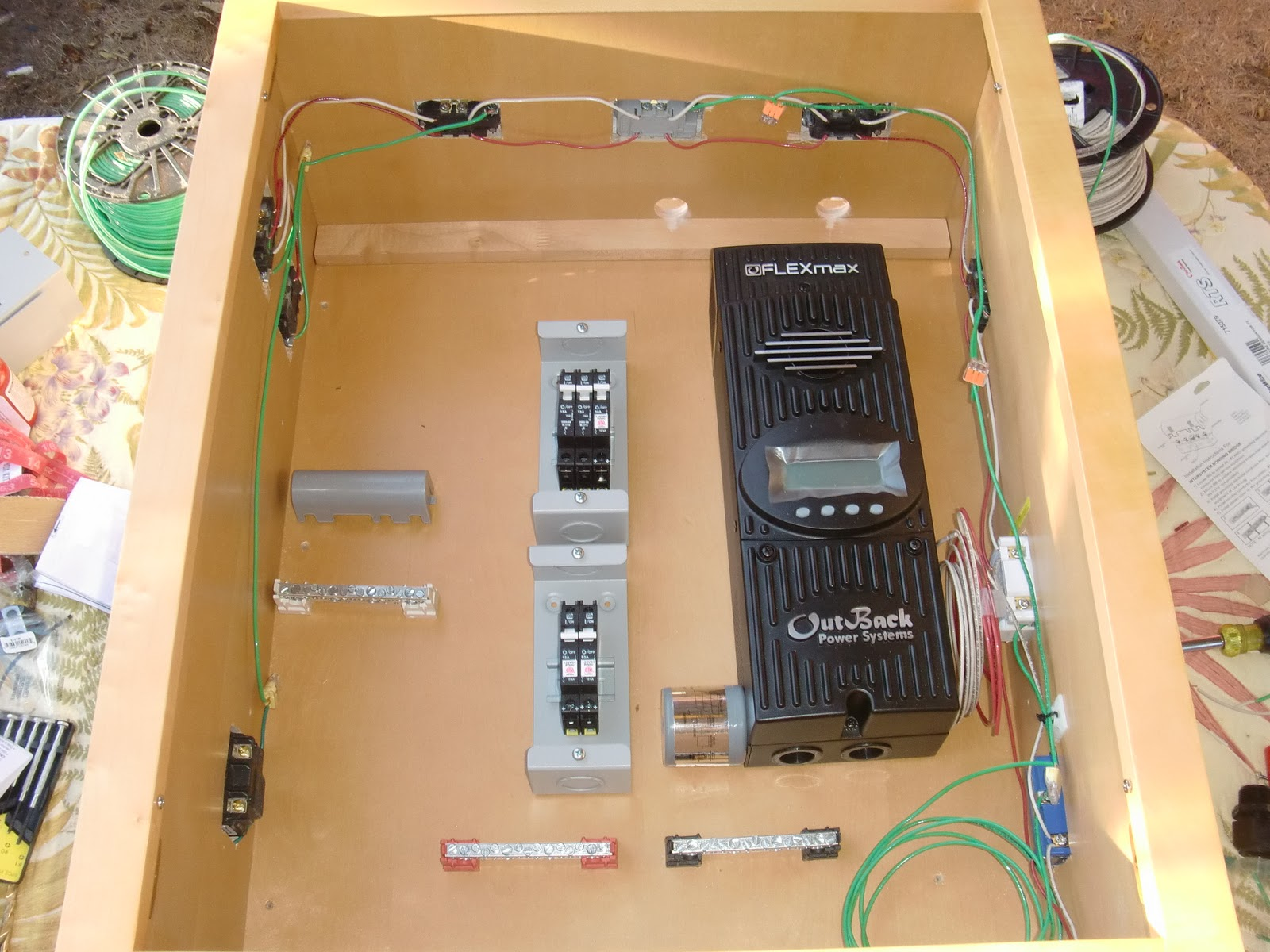 Trailer Wiring Panel Diagram Online Four Wire Diagrams Schematic 4 2013 Carmate 100 Solar
