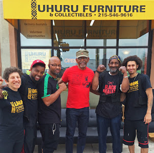 Chairman Omali Yeshitela Visits Uhuru Furniture!