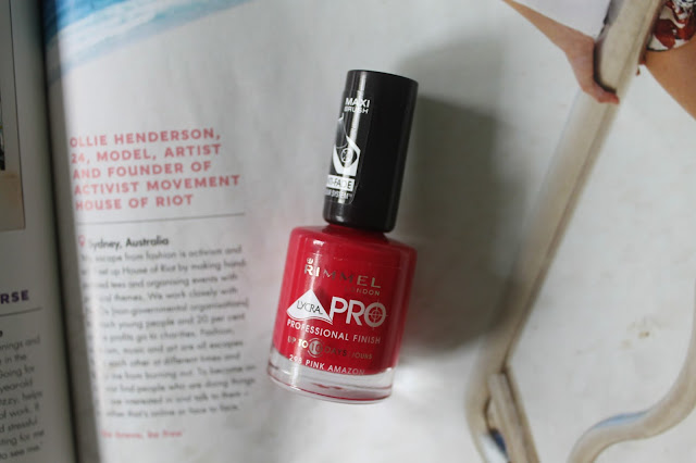 Rimmel London Lycra Pro Professional Finish in Pink Amazon Beauty Blogger Blog
