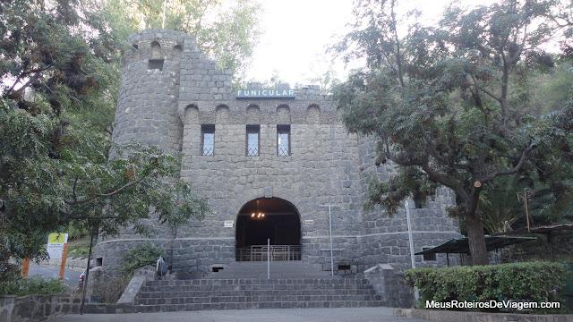 Estação Pío Nono do funicular do Cerro San Cristóbal