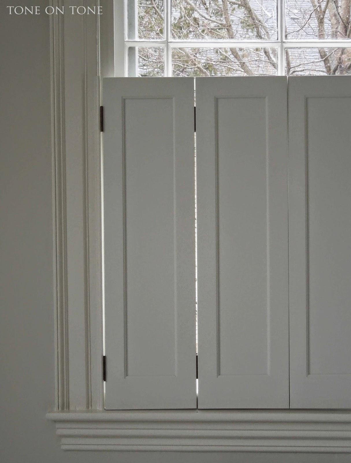 Window with Shutters On the Door