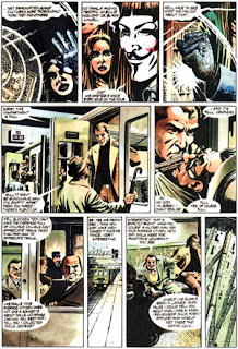 "paginas de ""V de Vendetta ""de Alan Moore y David Lloyd"