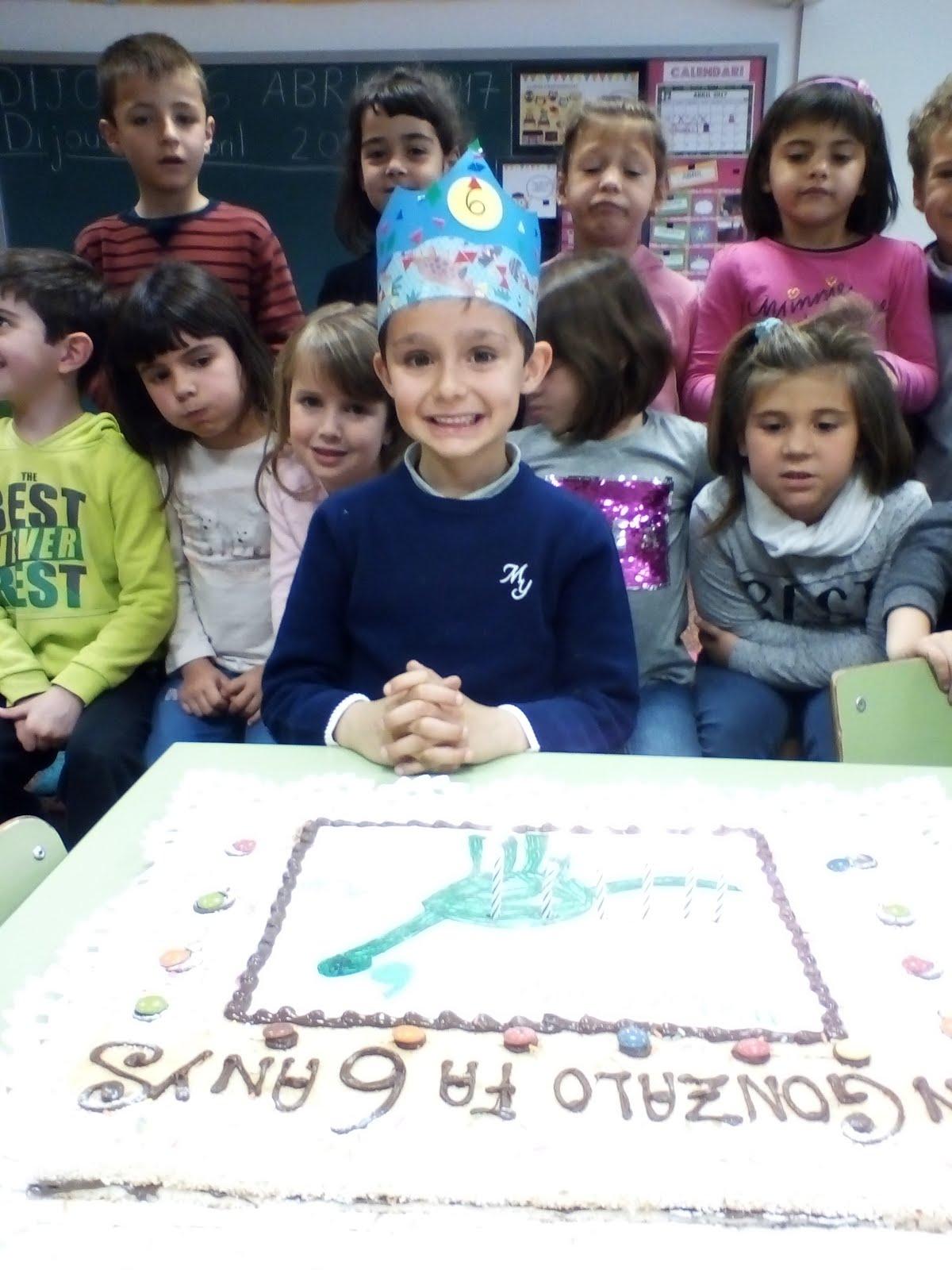 En Gonzalo ja té 6 anys!!!