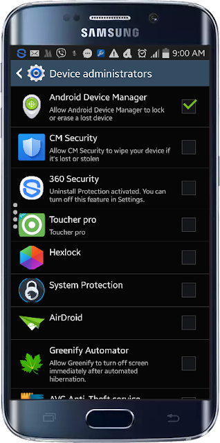 Device manager செயற்படுத்தல்