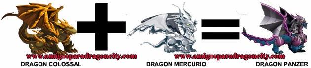 como hacer el dragon panzer en dragon city formula 3