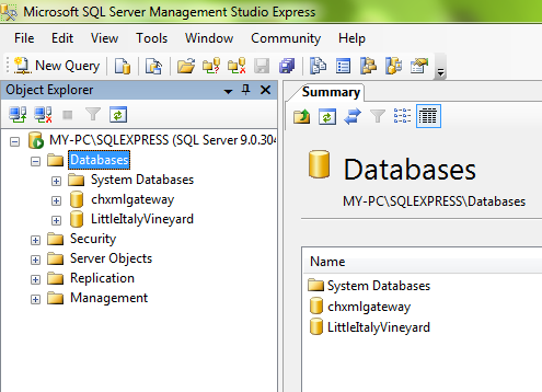 how to open sql server management studio 2012