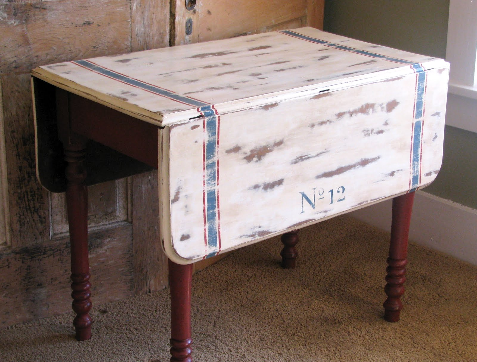 Popular I have been wanting to do a treatment like this on a drop leaf table for a long time