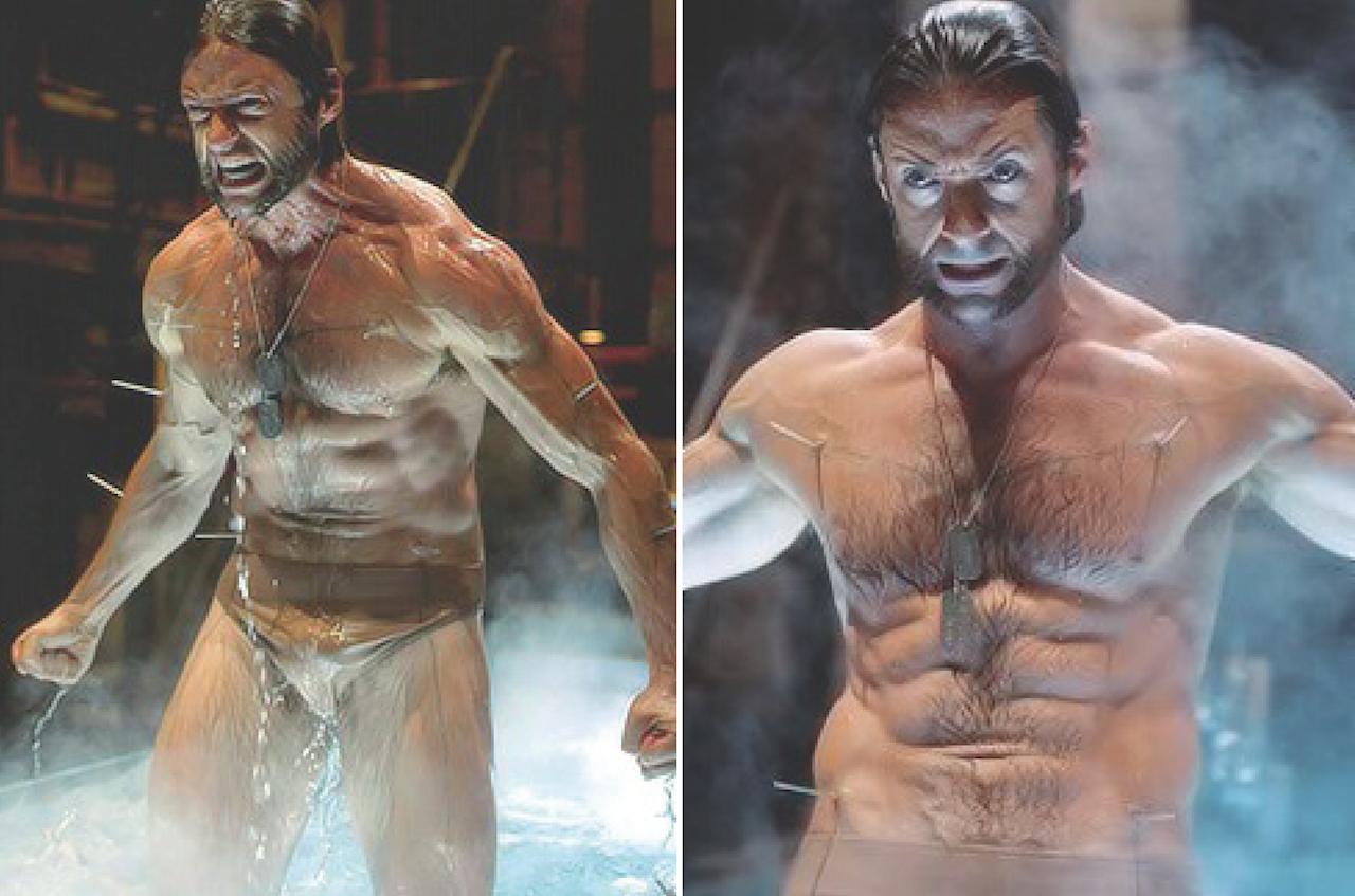 Wolverine Naked Scene 96