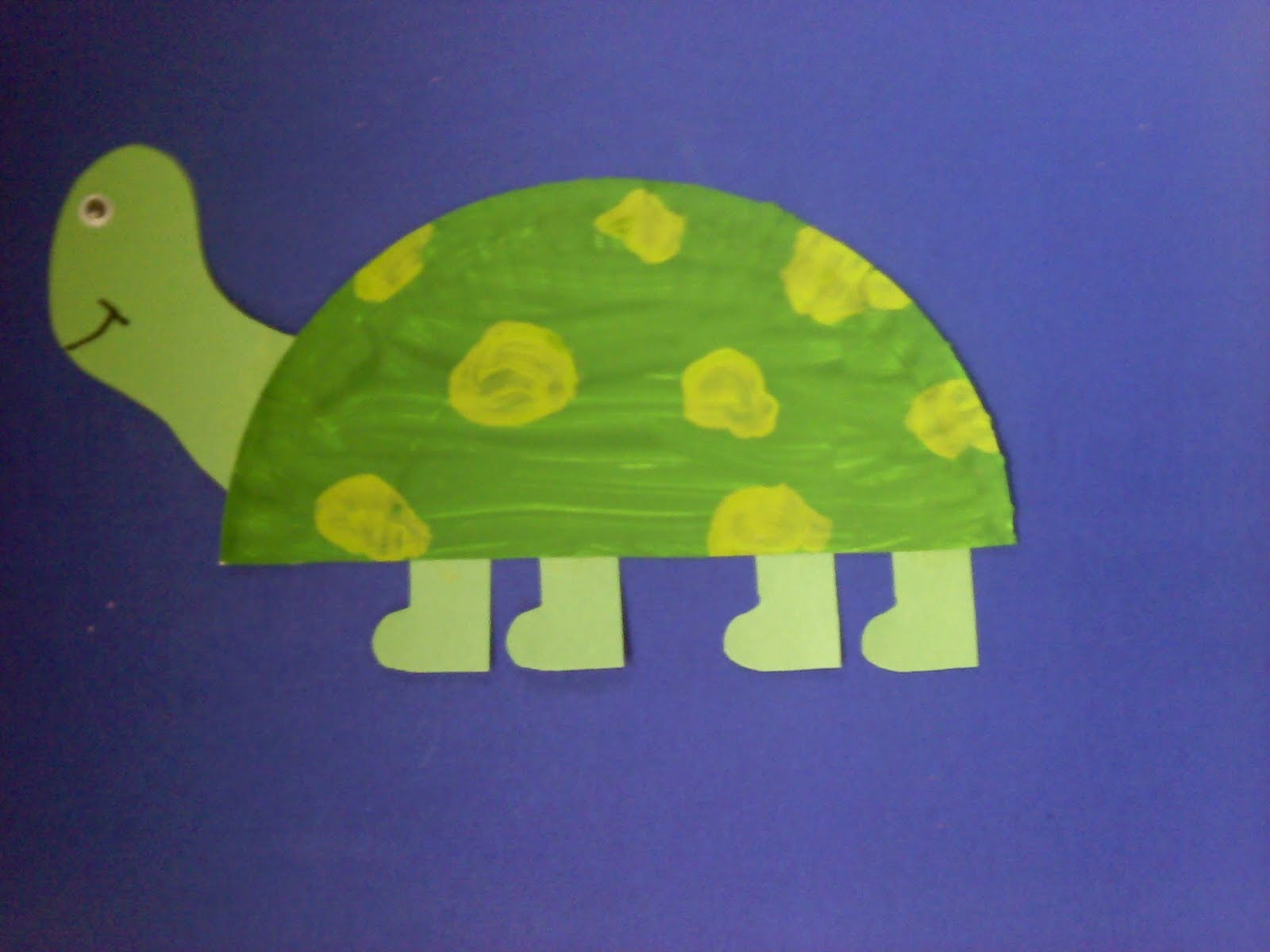 Paper Plate Turtle & Crafts For Preschoolers: Paper Plate Turtle