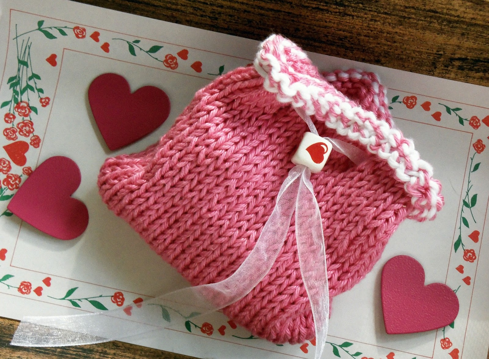 golden bird knits: The return of the mini-drawstring bag