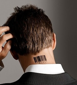 Barcode Tattoo Neck Tattoos for Boys &...