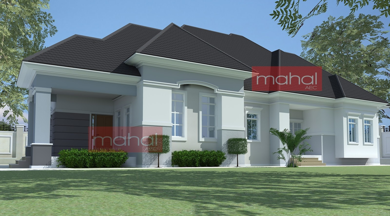 1 bedroom bungalow plans