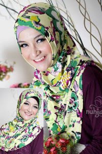Nuhijab ITS - Purple (Toko Jilbab dan Busana Muslimah Terbaru)