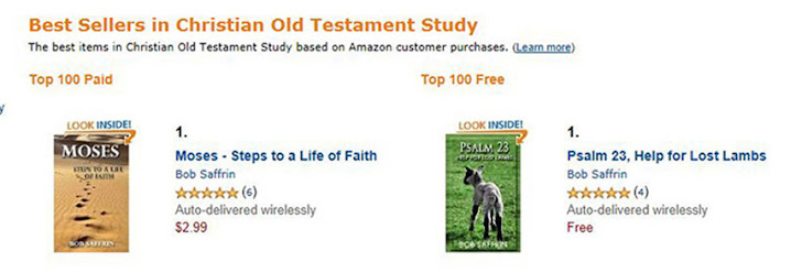 Amazon #1 Best Seller Rank
