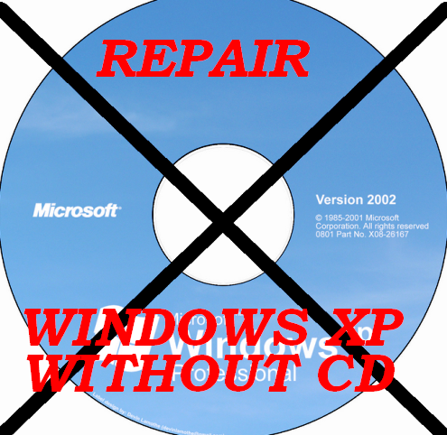 Repair Windows XP without CD
