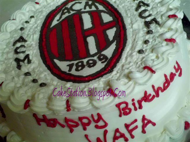Cake Ac Milan Harga Mulai Rp 250000 Picture