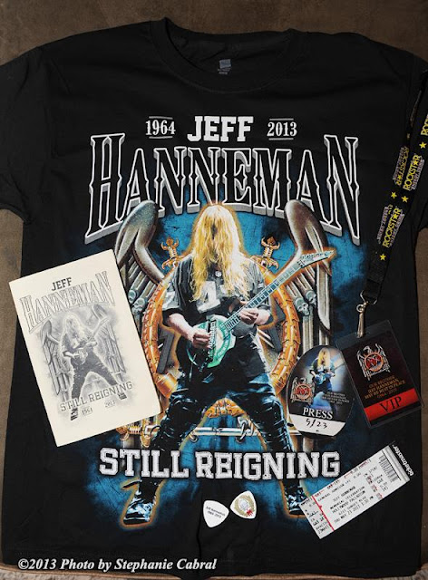 - Horns Up Rocks Slayer Jeff Hanneman Memorial