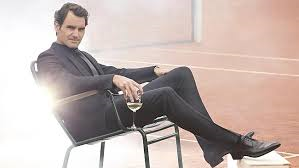 Roger Federer and Moet & Chandon