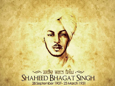 Shaheed Bhagat Singh HD Wallpaper For Desktop