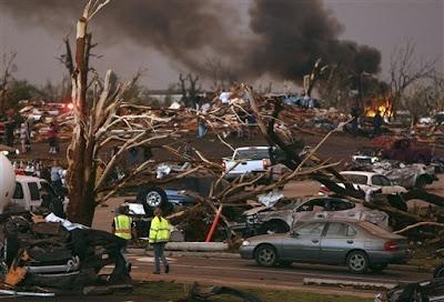 daños del tornado en joplin missouri, eeuu 2011