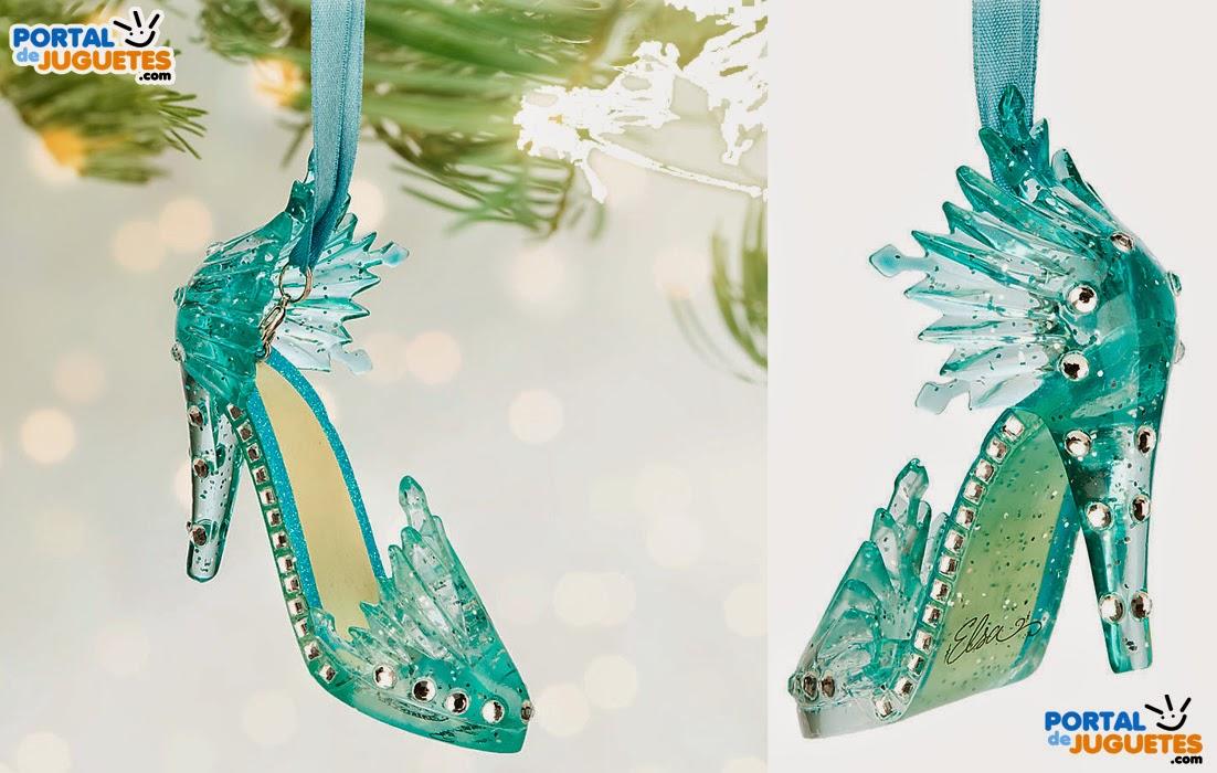 adorno navidad zapato elsa frozen disney store
