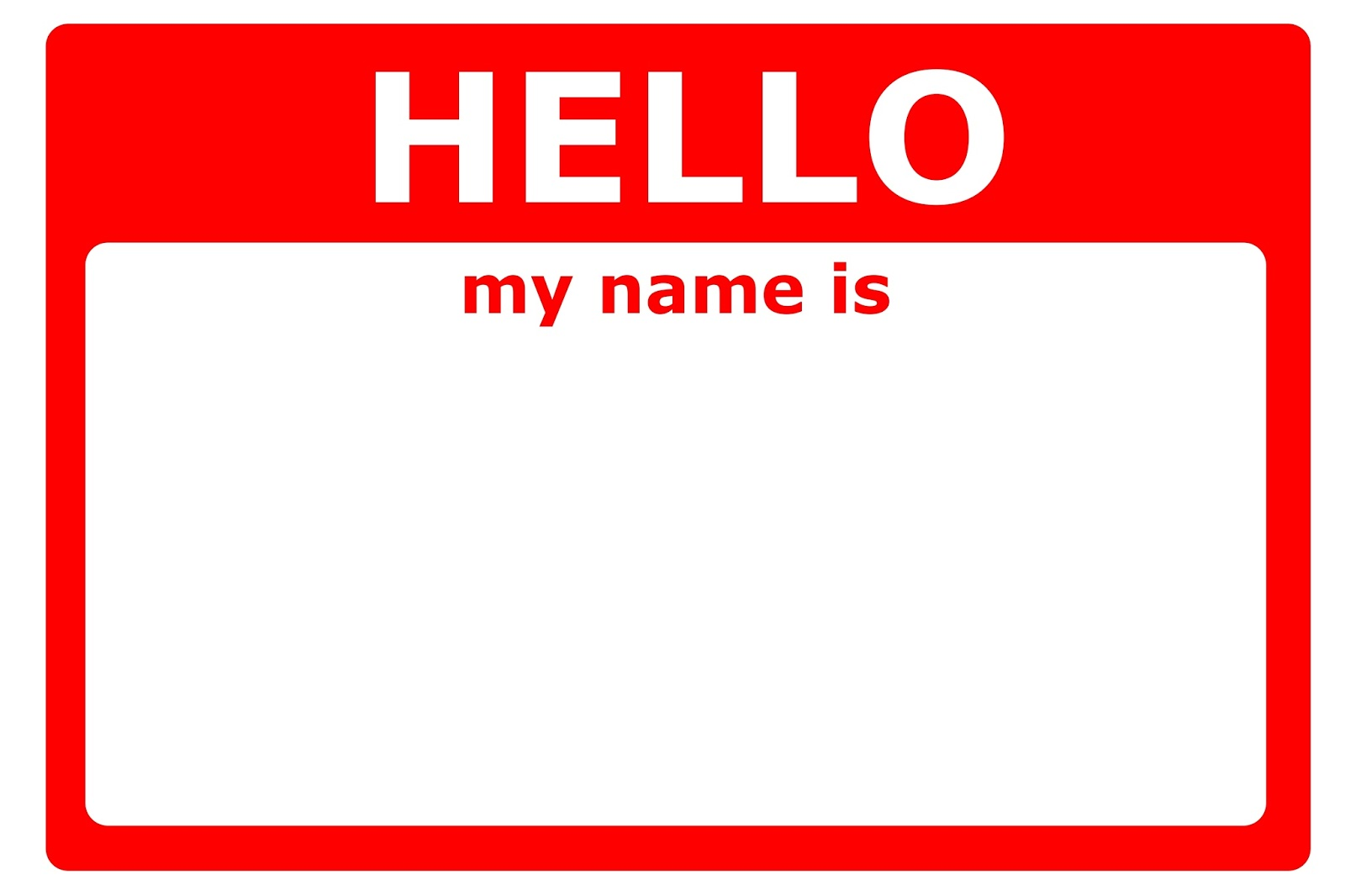 It is a picture of Monster Name Tag Printable