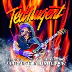 Ted Nugent Ultralive Ballisticrock CD y DVD