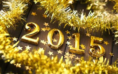 Greeting Happy New Year Backgrounds Photo 2015