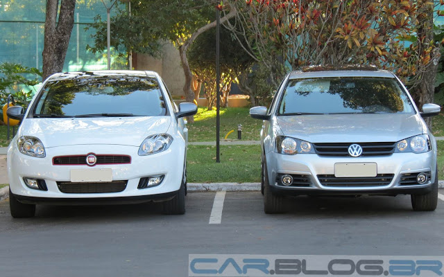 Fiat Bravo Sporting Dualogic x VW Golf Sportline TipTronic