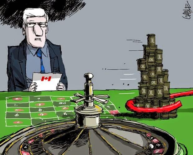 Brian Gable: Stephen Harper bets on oil.