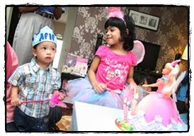 on Mia's 4th Bezzday Party