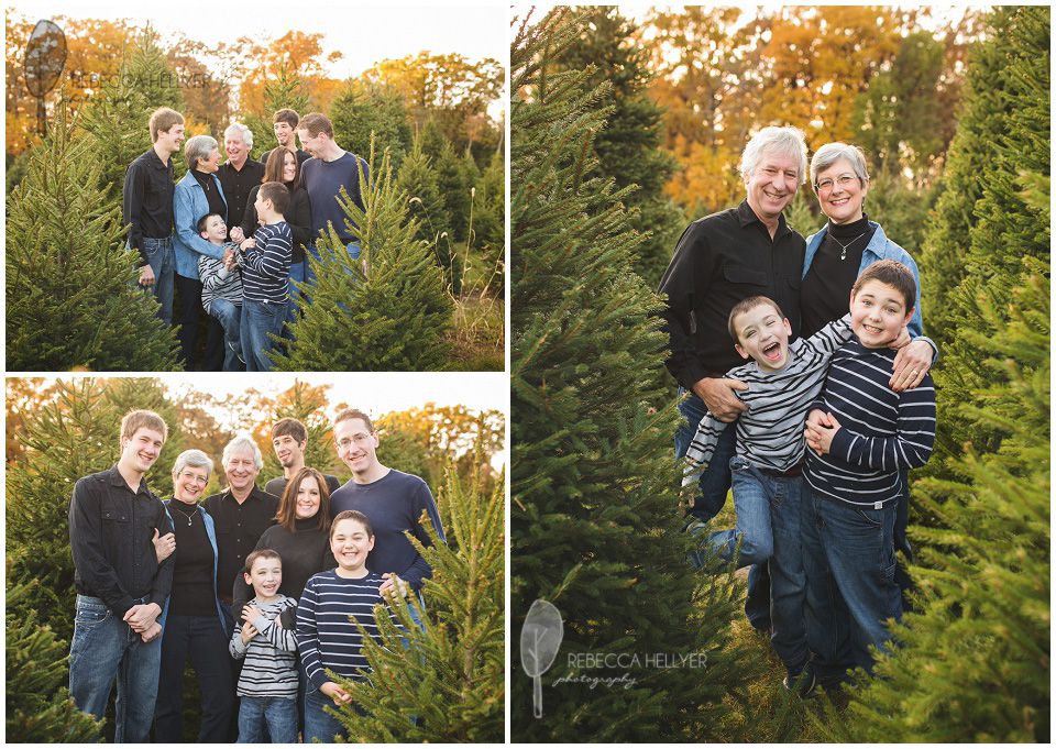 The Ide Family at the Ide Family Christmas Tree Farm | Chicago ...